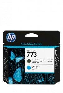 HP Wkład atramentowy Print Head/773 Matte Black/Cyan DJ C1Q20A