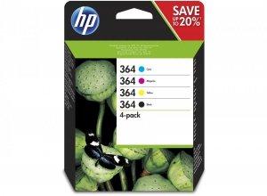 HP oryginalny wkład atramentowy / tusz N9J73AE. No.364 Combo pack. CMYK. HP Combo-pack.B8550.C5380.D5460 N9J73AE