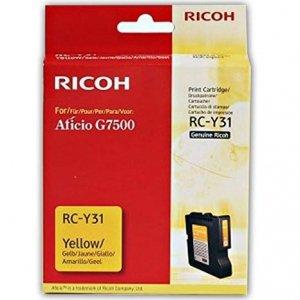 Ricoh oryginalny żelowe wypełnienie 405503. yellow. 2500s. typ RC-Y31. Ricoh G7500 405503