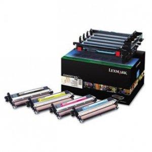 Lexmark oryginalny bęben C540X74G. black+color. urządzenie + CMYK developer. 30000s. Lexmark C543. C544. X543. X544 C540X74G