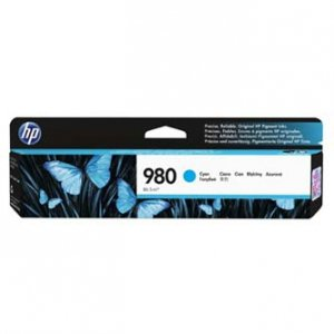 HP oryginalny wkład atramentowy / tusz D8J07A. No.980. cyan. HP HP OfficeJet Enterprise X585. X555 D8J07A