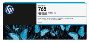 HP 765 Dark Grey 775ml. oryginalny wkład atramentowy / tusz do plotera Designjet T7200 ciemnoszary F9J54A