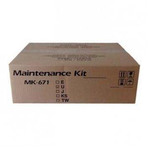 Kyocera Mita oryginalny maintenance kit MK671. 1702K58NL0. 300000s. Kyocera KM-2560.3060.2540.3040.TASKalfa 300i. TA DC-2325 MK-671