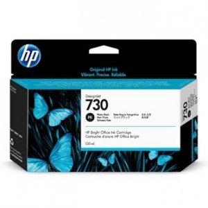 HP oryginalny ink P2V67A, HP 730, photo black, 130ml, HP P2V67A