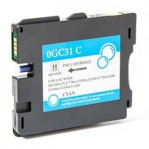 Ricoh oryginalny wkład żelowy 405702. cyan. 2300s. typ GC-31HC. Ricoh GXE5550N. GXE7700 405702