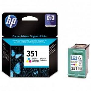 HP oryginalny wkład atramentowy / tusz CB337EE. No.351. color. 3.5ml. HP Officejet J5780. J5785 CB337EE