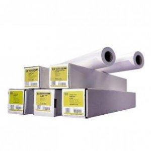 Papier do plotera HP 594/45.7m/Bright White Inkjet Paper. 594mmx45.7m. 23. Q1445A. 90 g/m2. papier. biały. do drukarek atramentowych. rolka Q1445A