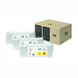 HP oryginalny wkład atramentowy / tusz C5075A. No.83. yellow. 3x680ml. 3szt. HP DesignJet 5000. PS. 5500. PS C5075A