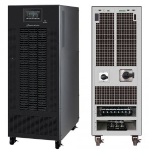 UPS POWER WALKER ON-LINE 3/3 FAZY CPG PF1 BX 30KVA, TERMINAL OUTUSB/RS-232, EPO, SNMP, BRAK BATERII