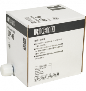 Ricoh oryginalny ink / tusz 893058, black, 5x600 Ricoh JP 1010, JP 1050
