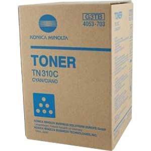 Konica Minolta oryginalny toner TN310C. cyan. 11500s. Konica Minolta Bizhub C350/C351/C450 4053703