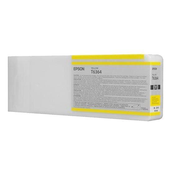 Epson oryginalny wkład atramentowy / tusz C13T636400. yellow. 700ml. Epson Stylus Pro 7900. 9900 C13T636400