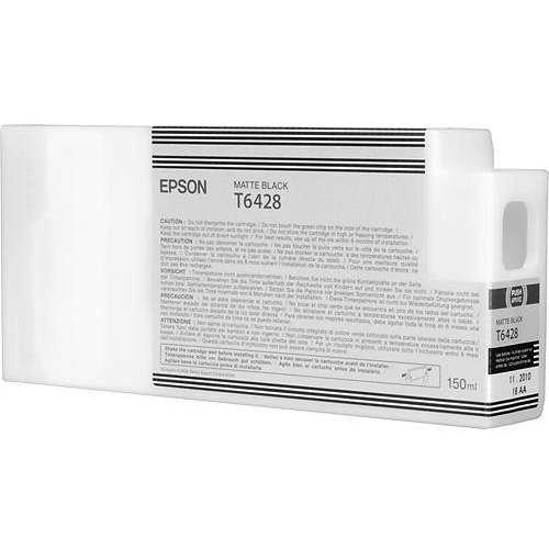 Epson oryginalny wkład atramentowy / tusz C13T642800. matte black. 150ml. Epson Stylus Pro 9900. 7900. 9700. 7700 C13T642800