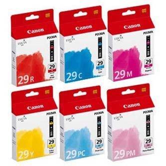 Canon oryginalny wkład atramentowy / tusz PGI29 CMYK. CMYK. 4873B005. Canon PIXMA Pro 1 4873B005