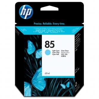 HP oryginalny wkład atramentowy / tusz C9428A. No.85. light cyan. 69ml. HP DesignJet 30. N. GP. DesignJet 130. NR. GP C9428A
