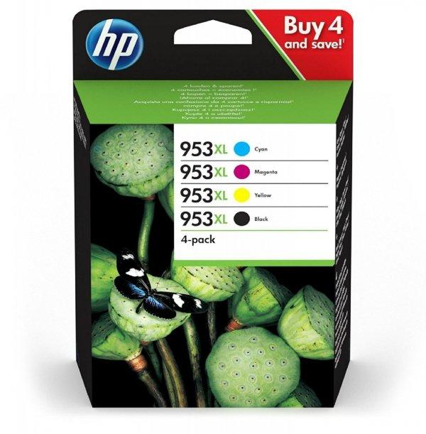 HP Tusz Ink/953XL High Yield C/M/Y/K 4-pack