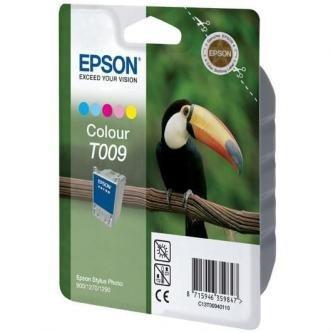 Epson oryginalny wkład atramentowy / tusz C13T00940110. color. 330s. 66ml. Epson Stylus Photo 1270. 1290. 900 C13T00940110