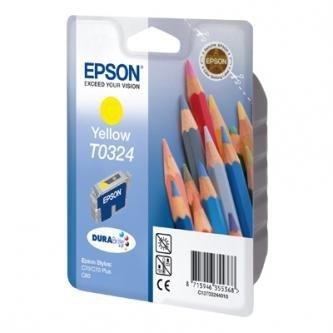 Epson oryginalny wkład atramentowy / tusz C13T032440. yellow. 420s. 16ml. Epson Stylus Color C80. C70 C13T03244010