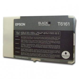 Epson oryginalny wkład atramentowy / tusz C13T616100. black. 76ml. Epson Business inkjet B300. B500DN C13T616100