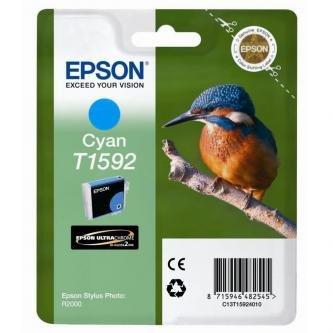 Epson oryginalny wkład atramentowy / tusz C13T15924010. cyan. 17ml. Epson Stylus Photo R2000