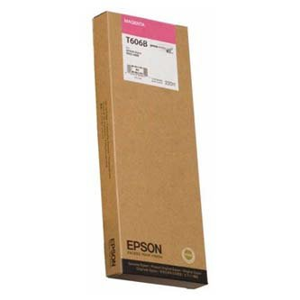 Epson oryginalny wkład atramentowy / tusz C13T606B00. magenta. 220ml. Epson Stylus Pro 4800 C13T606B00