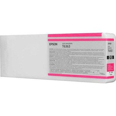 Epson oryginalny wkład atramentowy / tusz C13T636300. vivid magenta. 700ml. Epson Stylus Pro 7900. 9900 C13T636300