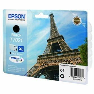 Epson oryginalny wkład atramentowy / tusz C13T70214010. XL. black. 2400s. Epson WorkForce Pro WP4000. 4500 series C13T70214010