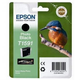 Epson oryginalny wkład atramentowy / tusz C13T15914010. photo black. 17ml. Epson Stylus Photo R2000