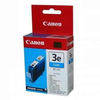 Canon oryginalny wkład atramentowy / tusz BCI3eC. cyan. 280s. 4480A002. Canon BJ-C6000. 6100. S400. 450. C100. MP700