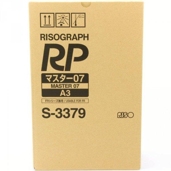 Riso oryginalny matryca S-3379. Riso RP/FR. A3. cena za 1 sztukę S-3379