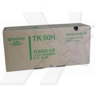 Kyocera Mita oryginalny toner TK50H. black. 15000s. 370QA0KX. Kyocera Mita FS-1900 370QA0KX