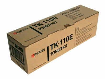 Kyocera Mita oryginalny toner TK110E. black. 2000s. 1T02FV0DE1. Kyocera Mita FS-720. 820. 920 1T02FV0DE1