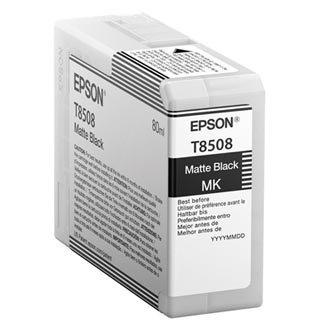 Epson oryginalny wkład atramentowy / tusz C13T850800. czarny mat. 80ml. Epson SureColor SC-P800 C13T850800
