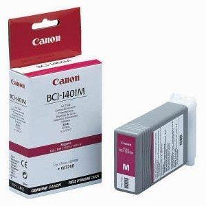 Canon oryginalny wkład atramentowy / tusz BCI1401M. magenta. 7570A001. Canon W6400D. 7250 7570A001