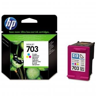 HP oryginalny wkład atramentowy / tusz CD888AE. No.703. tricolor. HP Deskjet CD888AE