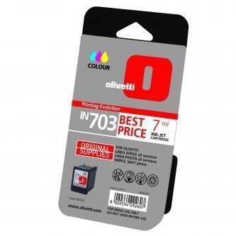 Olivetti oryginalny wkład atramentowy / tusz B0632. cyan/magenta/yellow. 7ml. Olivetti Olivetti Linea Office/Olivetti Linea Office Wifi B0632