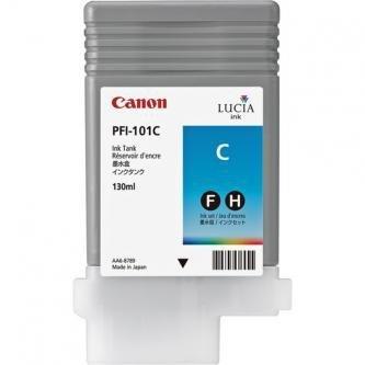 Canon oryginalny wkład atramentowy / tusz PFI101 C. cyan. 130ml. 0884B001. ploter iPF-5000 0884B001