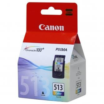Canon oryginalny wkład atramentowy / tusz CL513. color. 350s. 13ml. 2971B001. Canon MP240. MP260 2971B001