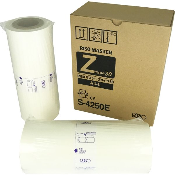 Riso oryginalny matryca S-4250/S-7611. Riso EZ/Z typ 30. A4. cena za 1 sztukę S-4250