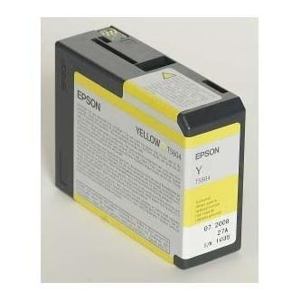 Epson oryginalny wkład atramentowy / tusz C13T580400. yellow. 80ml. Epson Stylus Pro 3800 C13T580400