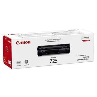 Canon oryginalny toner CRG725. black. 1600s. 3484B002. Canon LBP-6000. 6020. 6020b 3484B002