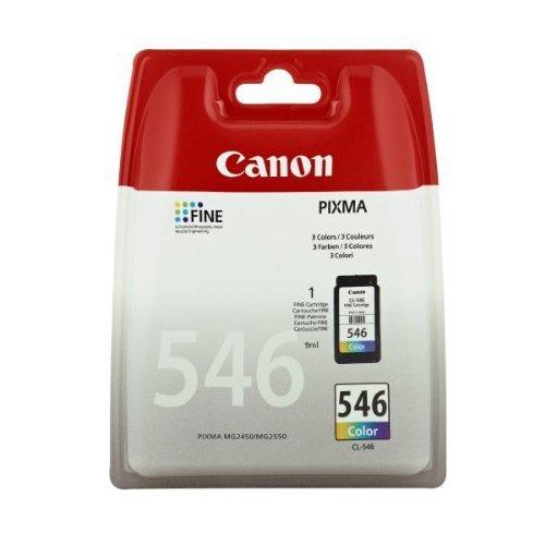 Canon oryginalny wkład atramentowy / tusz CL-546. colour. 180s. 8ml. 8289B001. Canon Pixma MG2250.2450.2550
