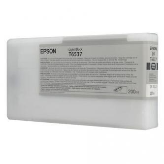 Epson oryginalny wkład atramentowy / tusz C13T653700. light black. 200ml. Epson Stylus Pro 4900 C13T653700