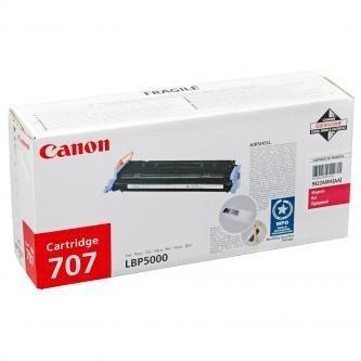 Canon oryginalny toner CRG707. magenta. 2000s. 9422A004. Canon LBP-5000 9422A004