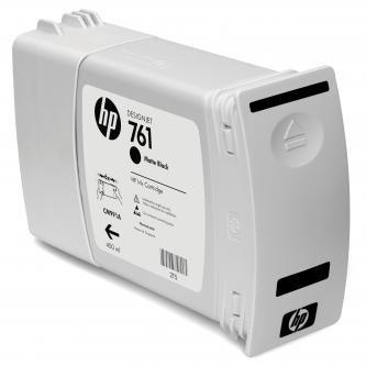 HP oryginalny wkład atramentowy / tusz CM991A. matte black. 400ml. No.761. HP DesignJet T7100 CM991A