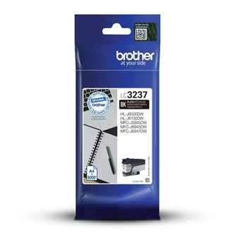 Brother oryginalny ink LC-3237BK, black, 3000s, Brother MFC-J5945DW, MFC-J6945DW, MFC-J6947DW LC3237BK