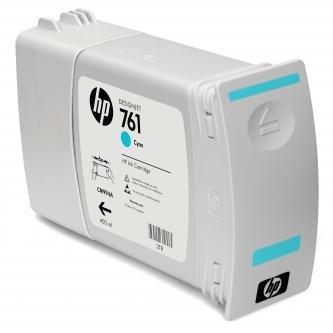 HP oryginalny wkład atramentowy / tusz CM994A. cyan. 400ml. No.761. HP DesignJet T7100 CM994A
