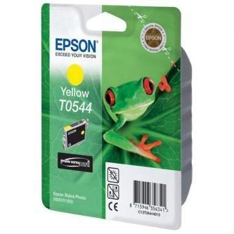 Epson oryginalny wkład atramentowy / tusz C13T054440. yellow. 400s. 13ml. Epson Stylus Photo R800. R1800 C13T05444010