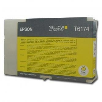 Epson oryginalny wkład atramentowy / tusz C13T617400. yellow. 100ml. high capacity. Epson B500. B500DN C13T617400