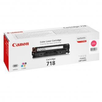 Canon oryginalny toner CRG718. magenta. 2900s. 2660B002. 2660B011. Canon LBP-7200Cdn 2660B002